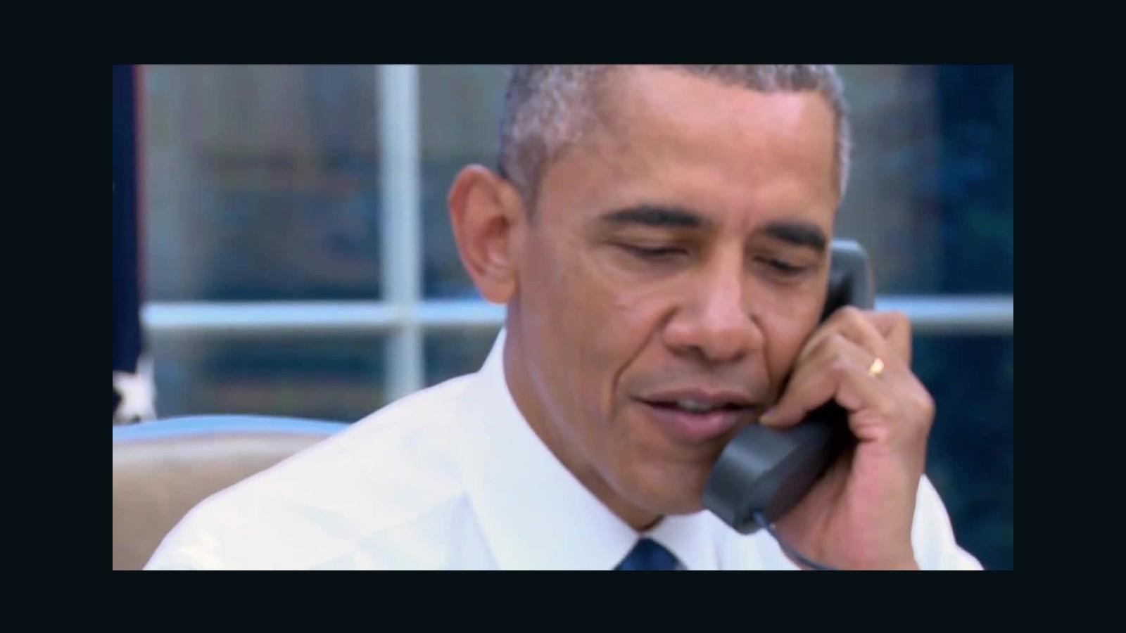 Obama Calls Same-sex Marriage Case Plaintiff On Live TV