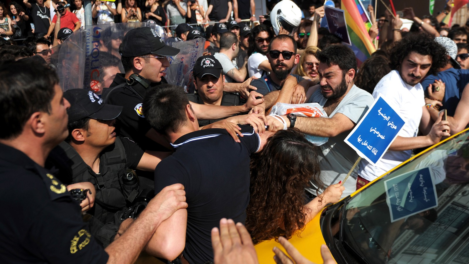 Gay pride parade obstructed by Turkish police
