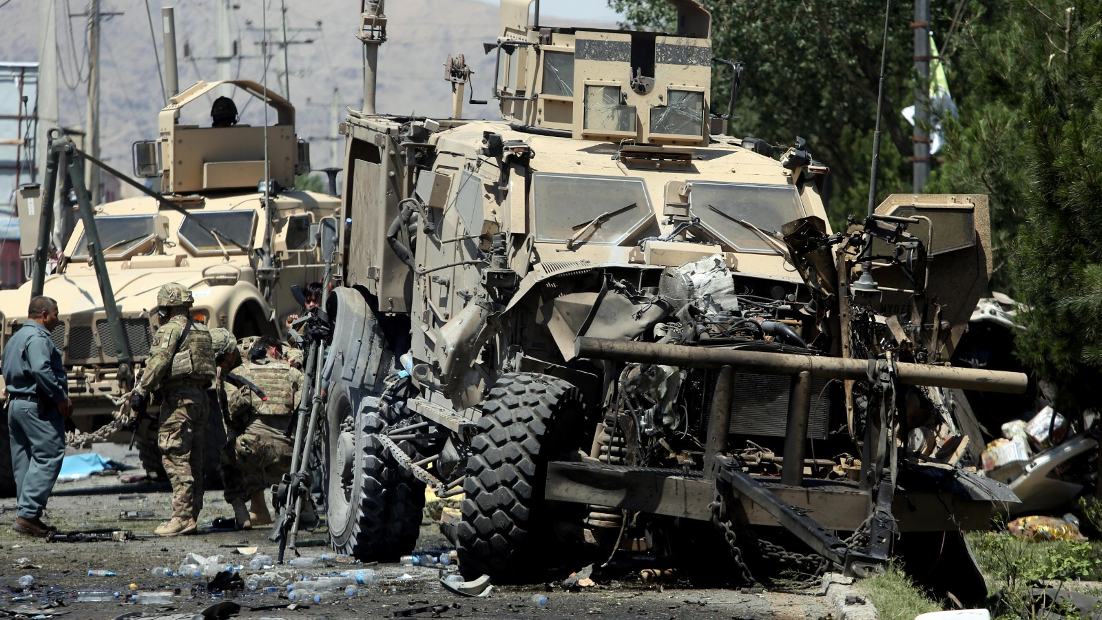 Afghanistan Kabul Blast Targets Foreign Forces Cnn