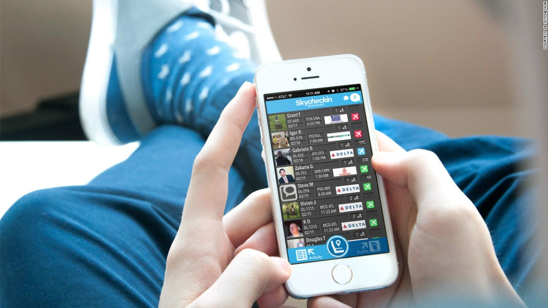 business travelers hook up app