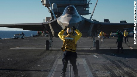First squadron of F-35 Joint Strike Fighters cleared for active combat