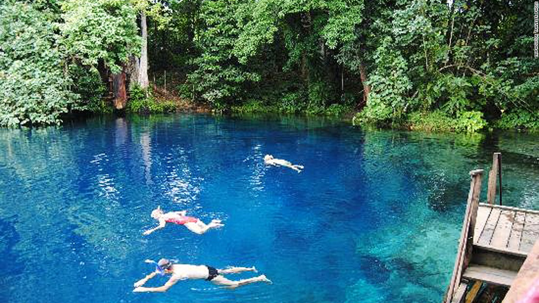 The World S 12 Best Natural Swimming Pools Cnn Com