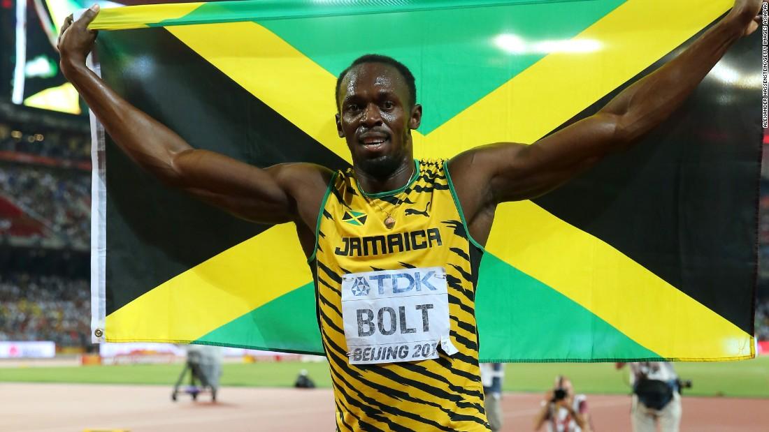 Disaksikan 60 Ribu Penonton, Bolt Terjatuh Diakhir Karirnya