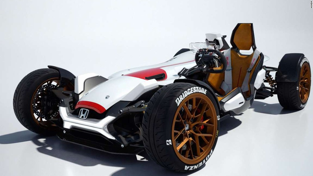 honda's new motorcycle-race car hybrid - cnn style