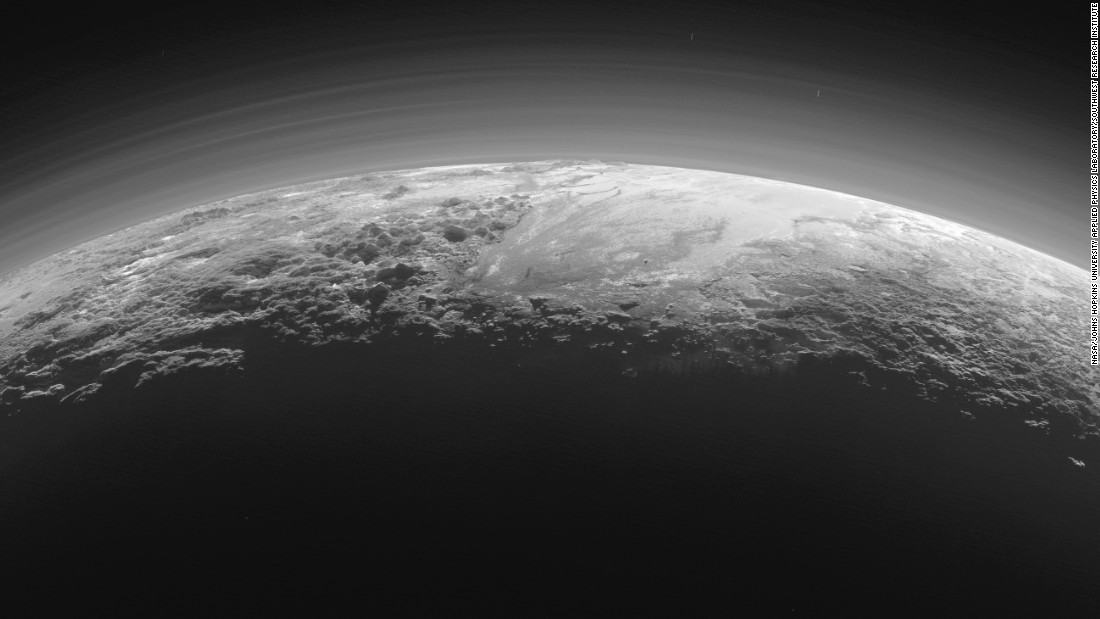 planet pluto surface - photo #12