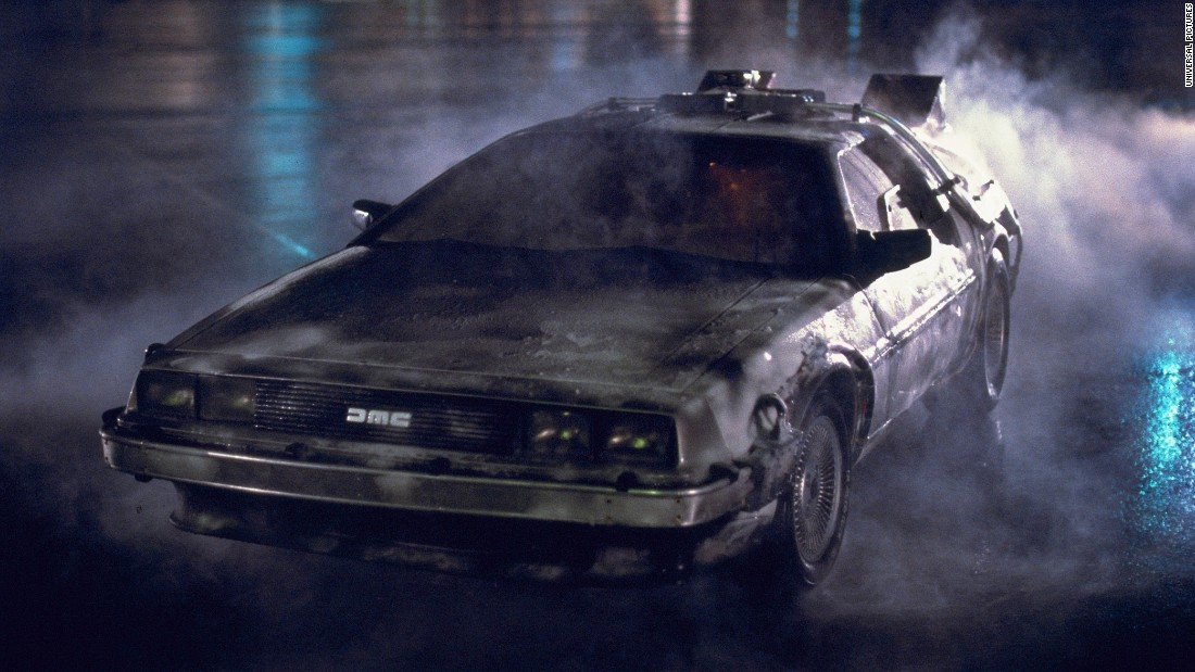 Time Traveling Delorean For Sale