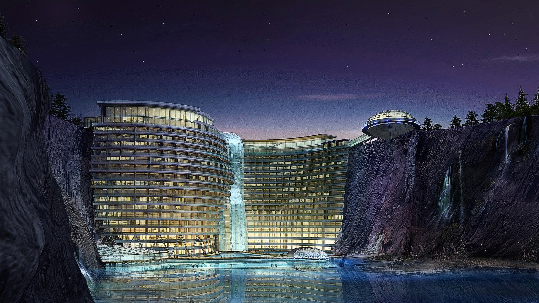 Coming Soon 9 Outrageously Designed Luxury Hotels Cnn Com