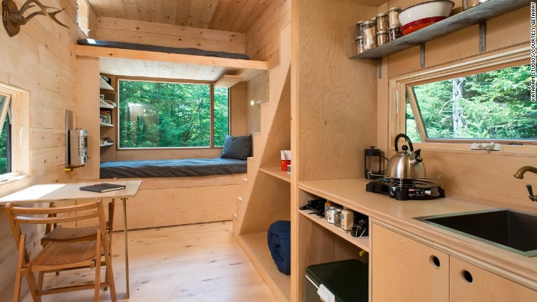 Phenomenal Tiny House Rentals For Your Mini Vacation Cnn Com Largest Home Design Picture Inspirations Pitcheantrous