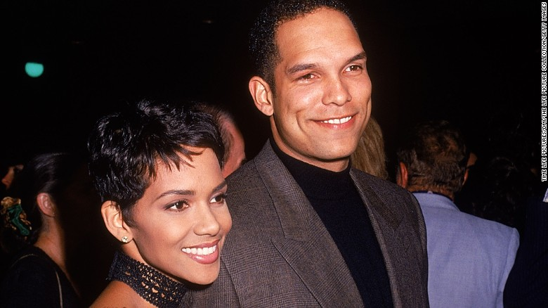 Halle Berry's first husband David Justice