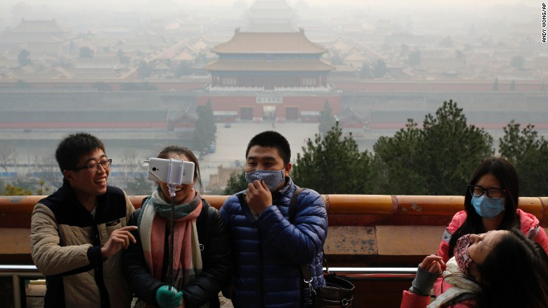 Pollution Problems in Beijing : Red Alert