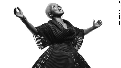 Two-time Grammy award winning singer and activist, Angelique Kidjo