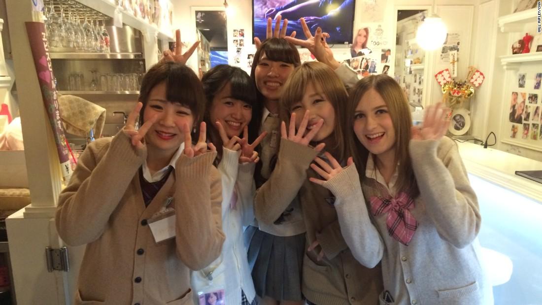 Japanese school girl get raped