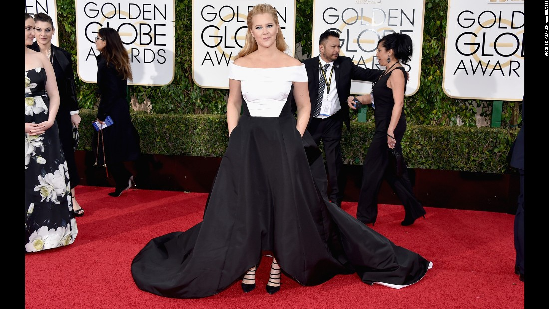 Amy Schumer. Photos: Golden Globes ...