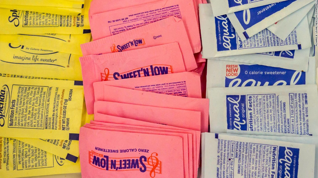 Artificial sweeteners may damage blood vessels