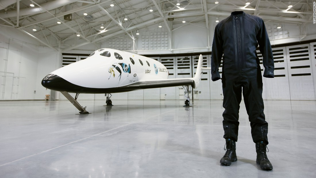 Y-3 And Virgin Galactic Team Up On Space Apparel