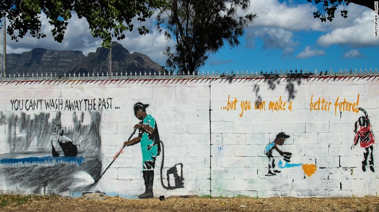 Cape Flats - early home of South African graffiti