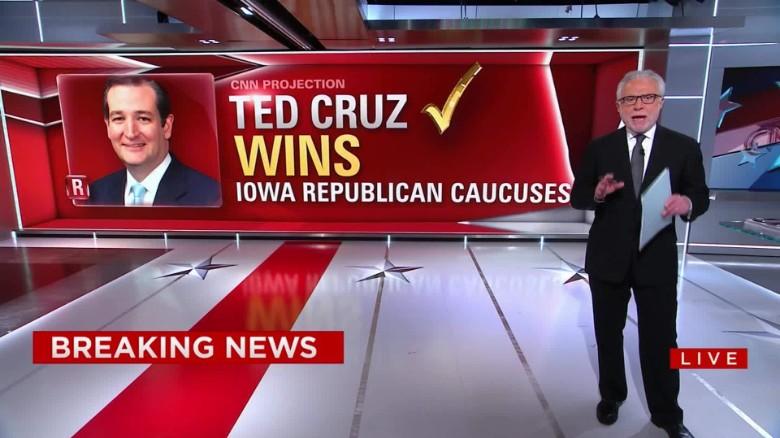 CNN Update: Iowa Caucuses Live Updates: Hillary Clinton Declared