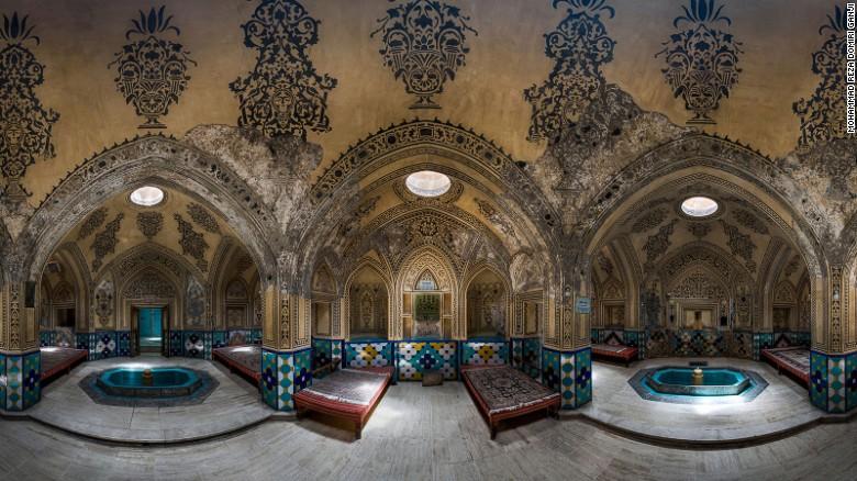 Cool and clean: Sultan Amir Ahmad Bathhouse.
