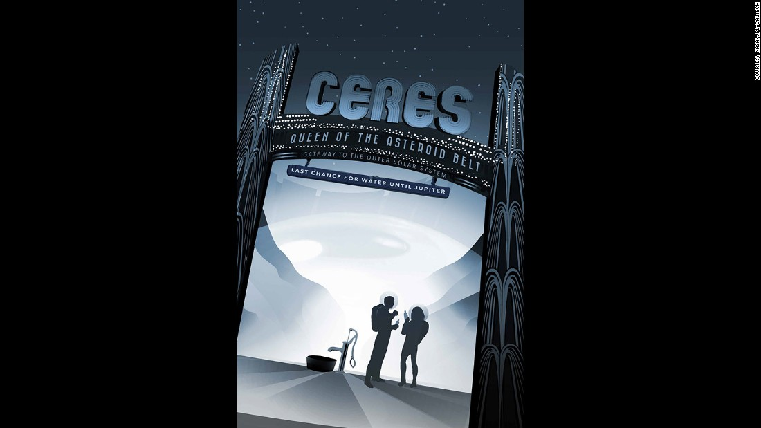 NASA lures space travelers with free posters - CNN