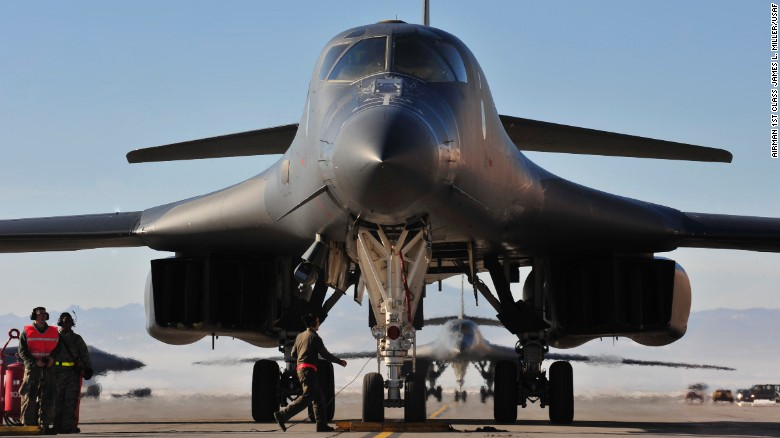 North Korea accuses US of provocation after bomber drills
