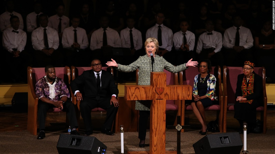 image of Hillary Clinton on the role of faith in her life
