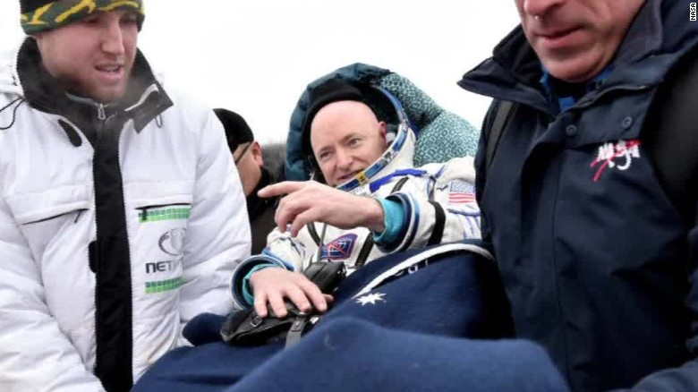 Scott Kelly answers your questions about life in space ...