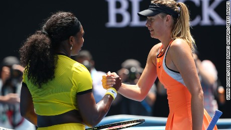 Sharapova's last match was a straight-sets loss to her long-time nemesis Serena Williams at the 2016 Australian Open.