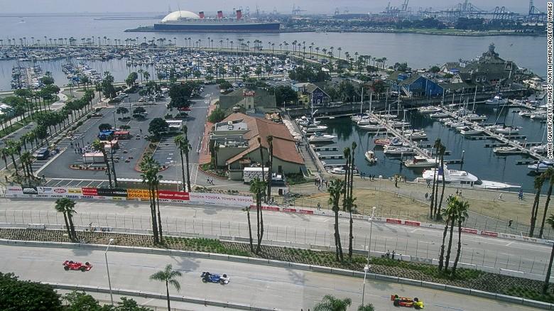 Outstanding Formula E Shoreline Shockwaves To Rock Long Beach Cnn Com Hairstyle Inspiration Daily Dogsangcom