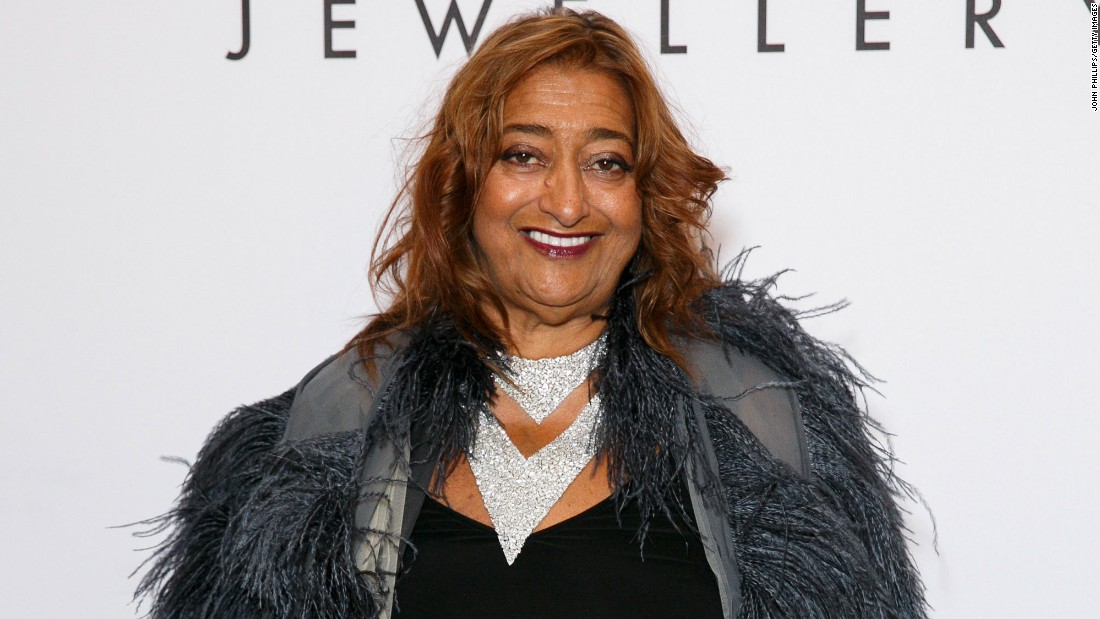 Tributes Pour In For Zaha Hadid Cnn Com