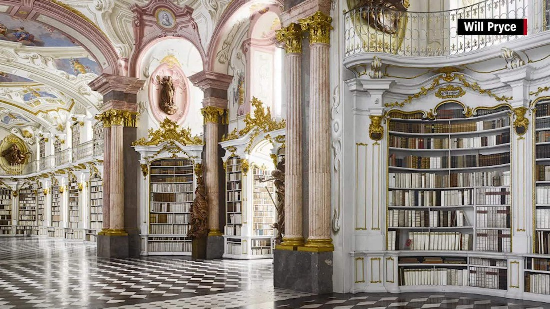 shhh take a look at the world 39 s most exquisite libraries cnn video. Black Bedroom Furniture Sets. Home Design Ideas