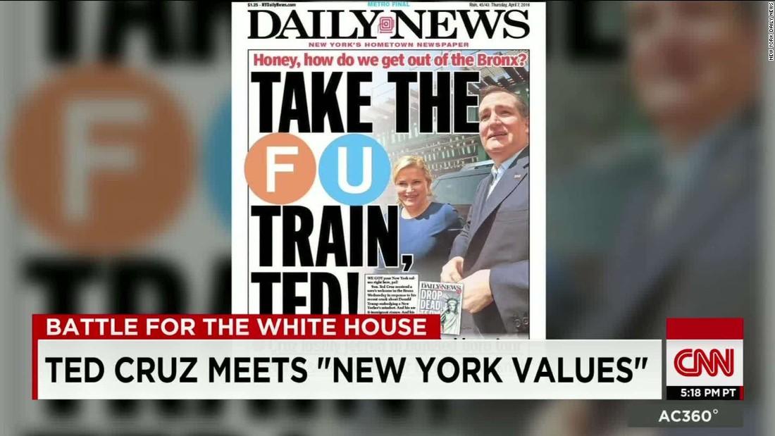 ted cruz vs donald trump new york values meet