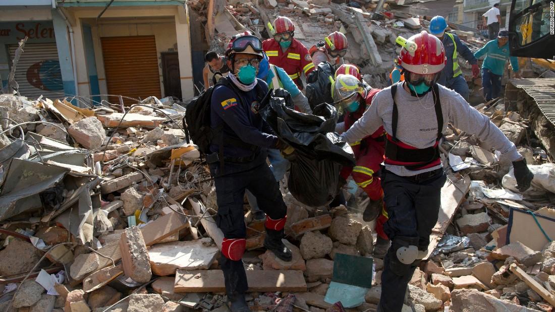 Image result for Ecuador earthquake