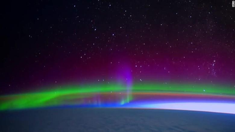 NASA shares stunning video of Northern Lights - CNN