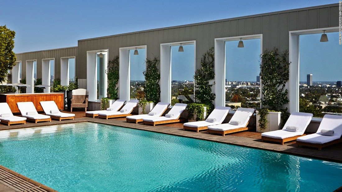 Los angeles hotel pools 6 that make a real splash - Best hotel swimming pools in los angeles ...
