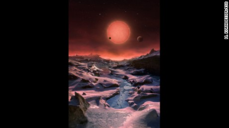 Astronomers discover 7 Earth-sized planets orbiting nearby ...