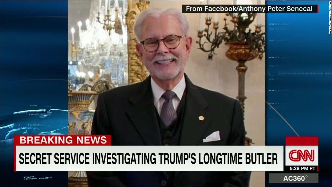 image of Secret Service investigating Trump's longtime butler