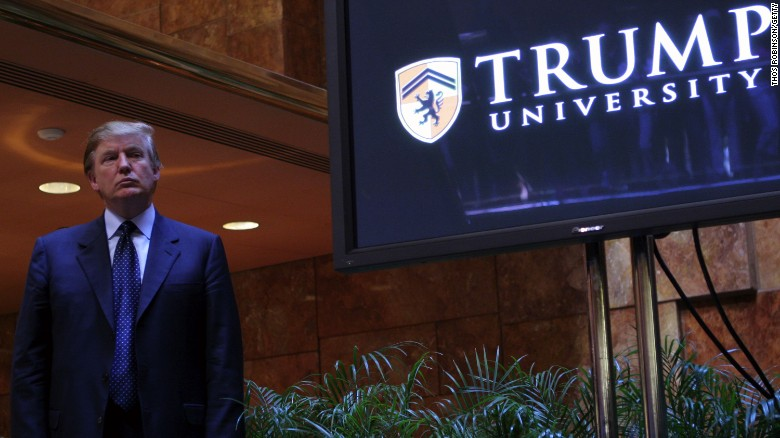 Trump University lawsuits settled for $25M