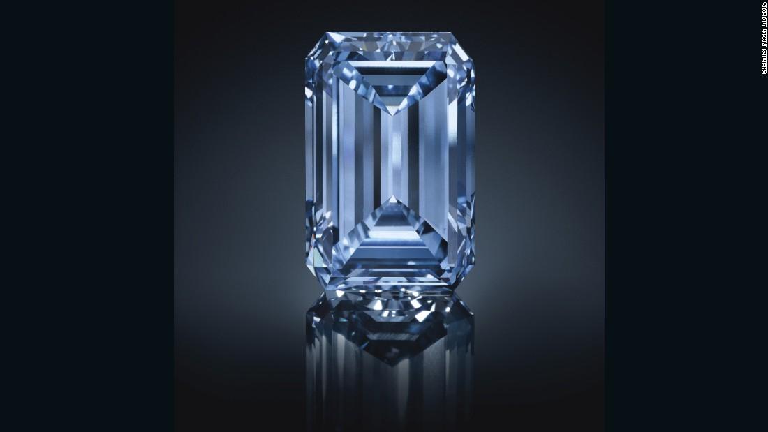 Sold World S Most Expensive Diamond Cnn