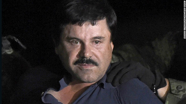 "Drug kingpin Joaquin ""El Chapo"" Guzman is facing trial in New York."