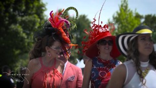 Glamour and tradition at the Kentucky Derby