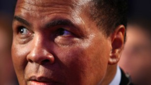 Muhammad Ali died of septic shock at age 74