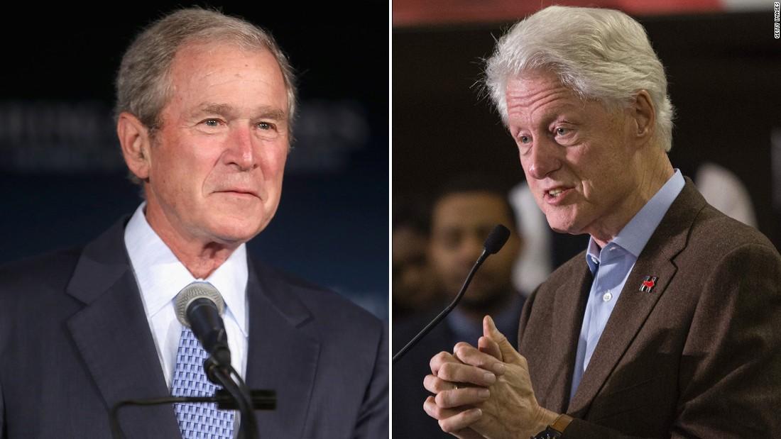 relationship between bush and clinton