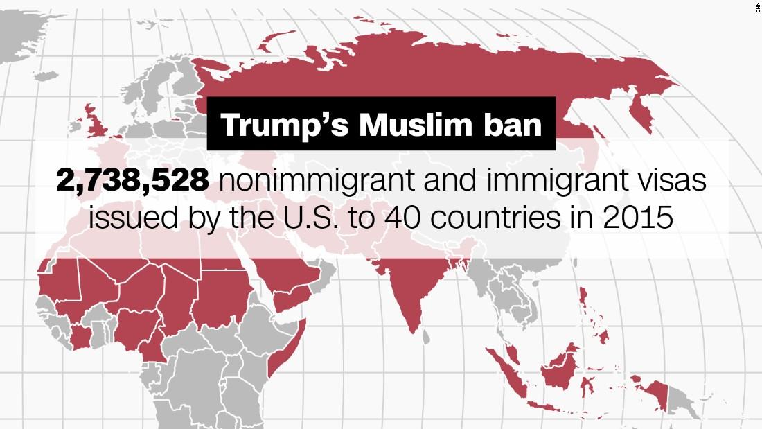 Trump Travel Ban Against Which Countries
