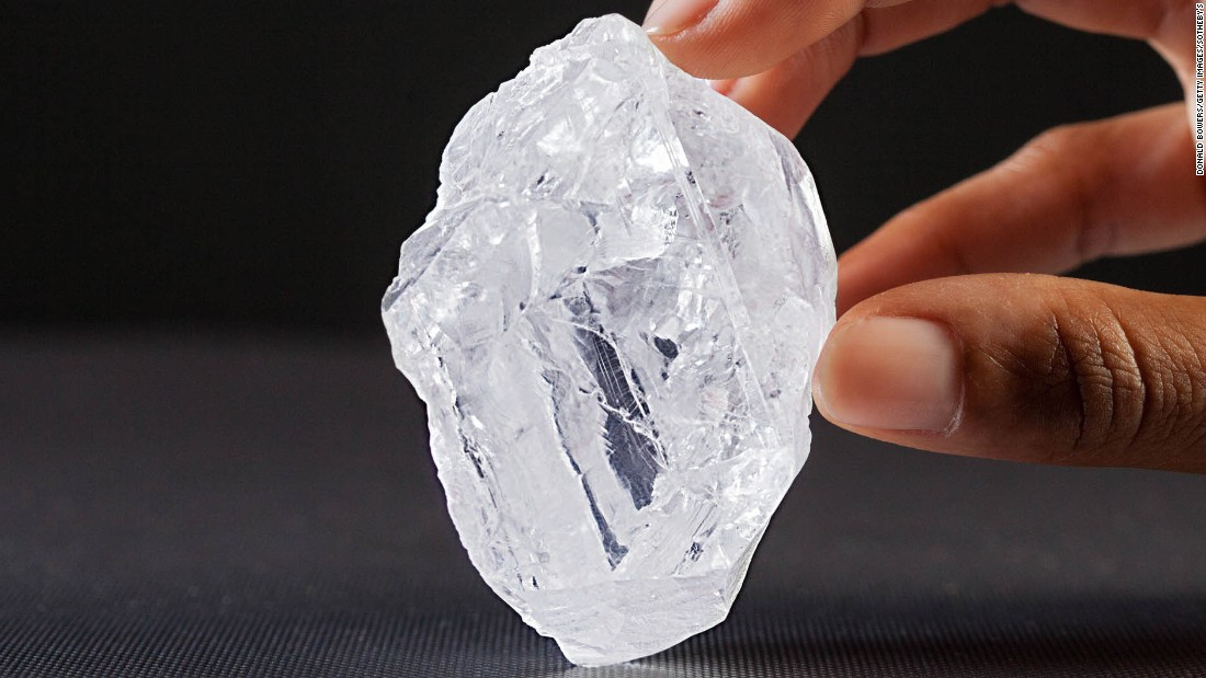 Raw Rough Diamond And Quotes: The World's Largest Uncut Diamond Goes On Sale