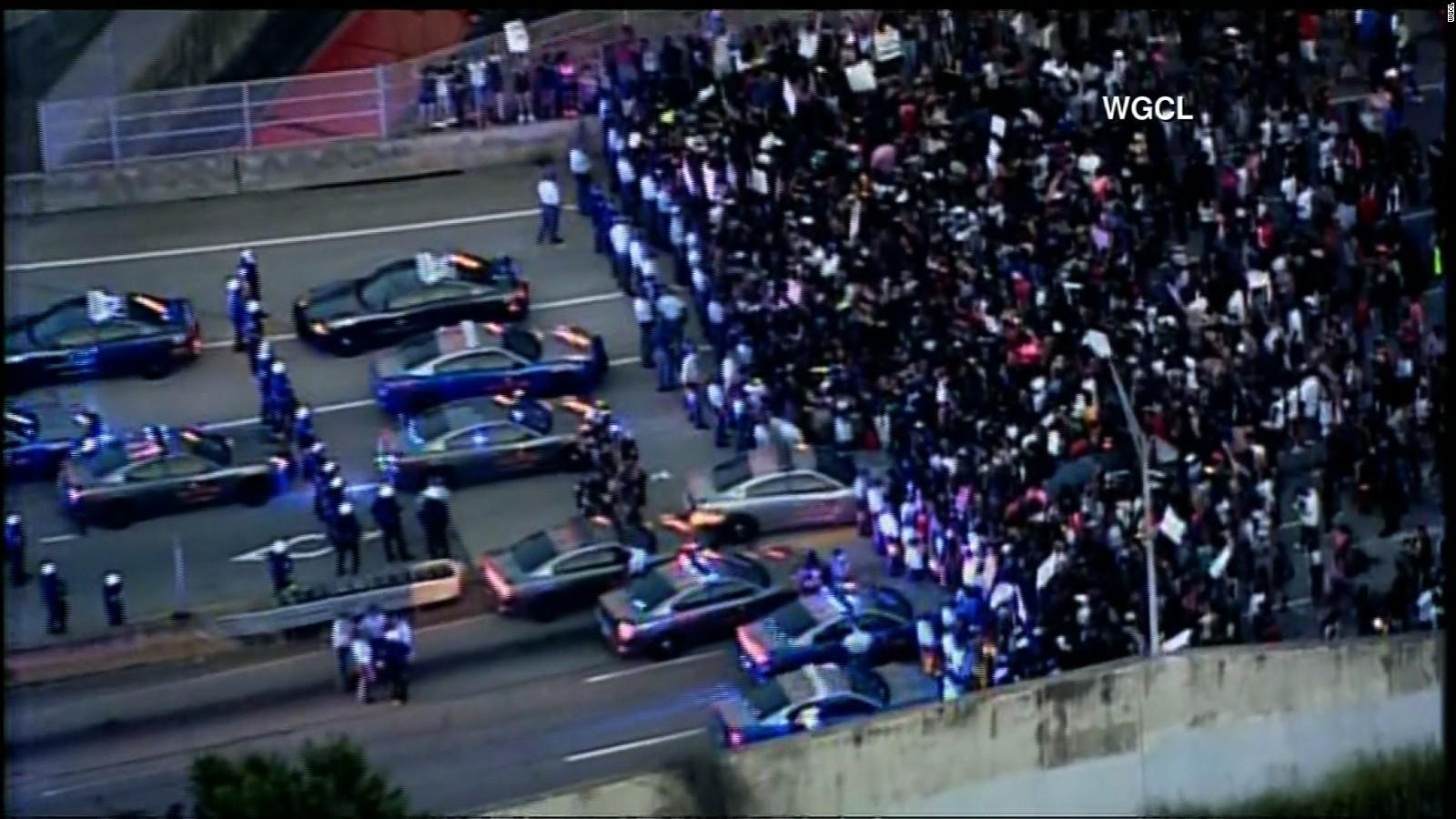Image result for black lives matter protests shut down traffic