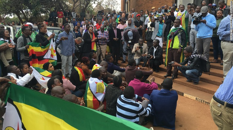 Image result for pastor evan mawarire