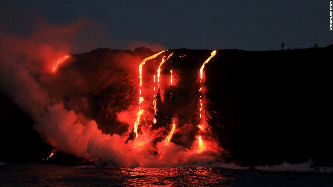 Big Island Lava Eruption