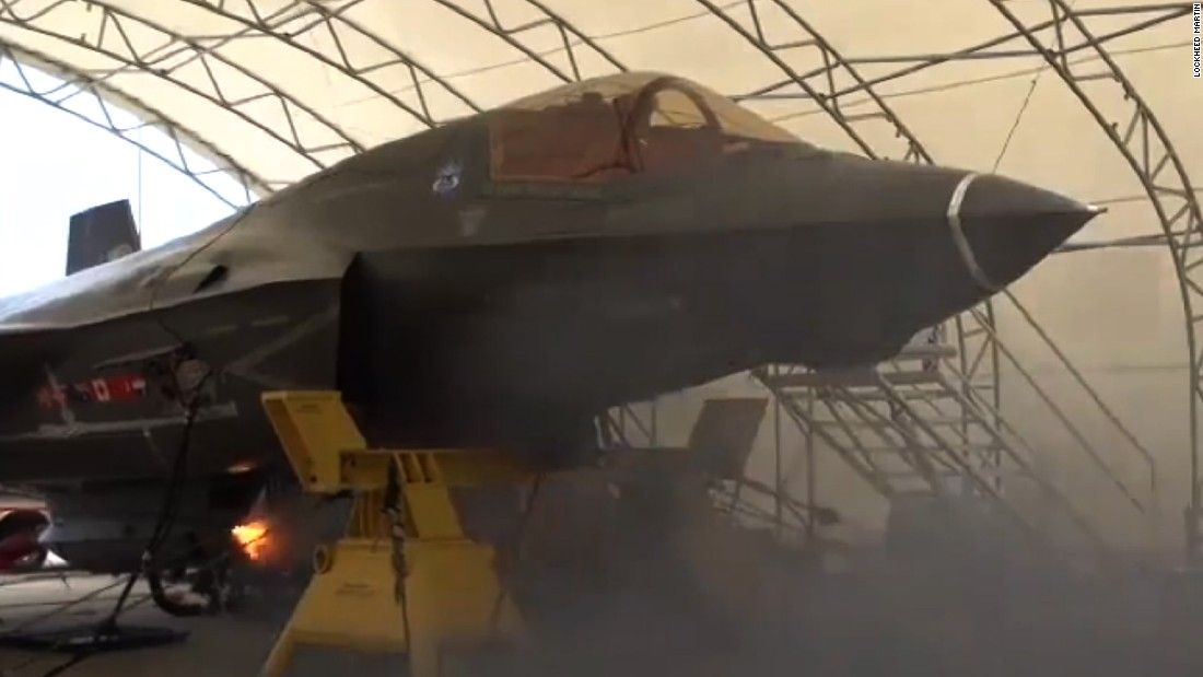 Gun Security Cabinet >> F-35 fighter jet fires 55 rounds per second - CNN Video