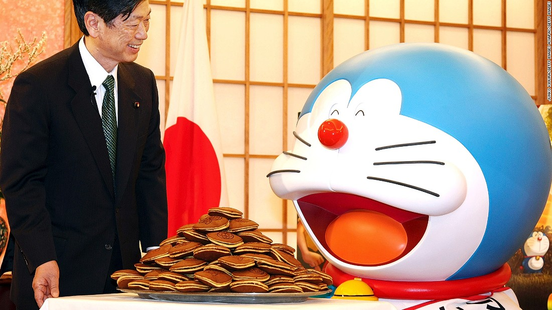 Doraemon Red Bean Cake