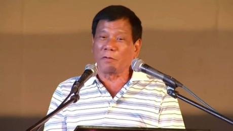 After cursing Obama, Duterte expresses regret - CNNPolitics